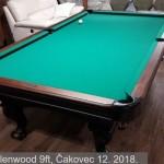 Brunswick Glenwood 9ft, Čakovec 12. 2018. 10