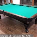 Brunswick Glenwood 9ft, Čakovec 12. 2018. 12
