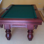biljarski stol oslo mahagonij zeleno1