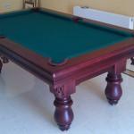 biljarski stol oslo mahagonij zeleno3